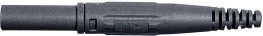 Laborstecker Stecker, gerade Stift-Ø: 4 mm Schwarz MultiContact XL-410 1 St.