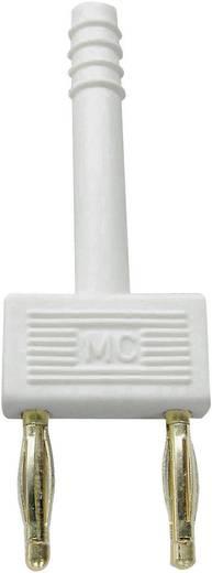 Sicherungs-Steckverbinder Weiß Stift-Ø: 2 mm Stiftabstand: 10 mm Stäubli 24.0042-29 1 St.