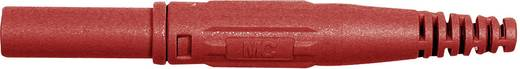 Laborstecker Stecker, gerade Stift-Ø: 4 mm Rot Stäubli XL-410 1 St.