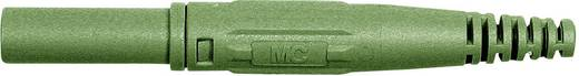 Laborstecker Stecker, gerade Stift-Ø: 4 mm Grün Stäubli XL-410 1 St.