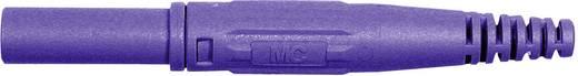 Laborstecker Stecker, gerade Stift-Ø: 4 mm Violett Stäubli XL-410 1 St.