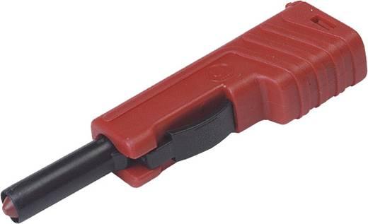 Laborstecker Stecker, gerade Stift-Ø: 4 mm Rot SKS Hirschmann SLS 200 1 St.