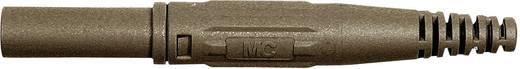 Laborstecker Stecker, gerade Stift-Ø: 4 mm Braun Stäubli XL-410 1 St.