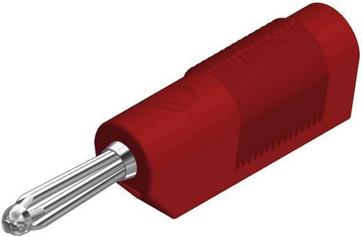 Büschelstecker Stecker, gerade Stift-Ø: 4 mm Rot SKS Hirschmann BSB 20 K 1 St.