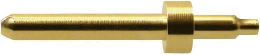 Sicherungs-Steckverbinder Stecker, Einbau vertikal Stift-Ø: 1 mm Gold Stäubli S1-B 1 St.