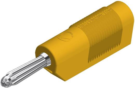 Büschelstecker Stecker, gerade Stift-Ø: 4 mm Gelb SKS Hirschmann BSB 20 K 1 St.