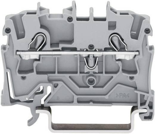Schutzleiterklemme 5.20 mm Zugfeder Belegung: PE Grün-Gelb WAGO 2002-1207 1 St.