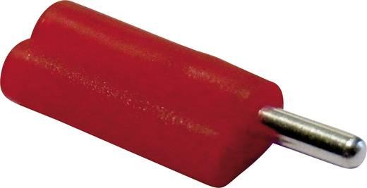 Büschelstecker Stecker, gerade Stift-Ø: 2 mm Rot Schnepp F 2020 1 St.