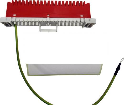 LSA-PLUS® Anschlussleiste Baureihe 2 Erdungsleiste 38 Adern 79101-516 00 Rot 3M Inhalt: 1 St.