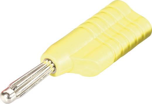 Büschelstecker Stecker, gerade Stift-Ø: 4 mm Gelb Schnepp S 4041 L ge 1 St.