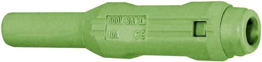 Laborbuchse Buchse, gerade Stift-Ø: 2 mm Grün Stäubli SL205-BA 1 St.
