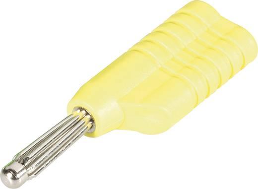 Büschelstecker Stecker, gerade Stift-Ø: 4 mm Gelb Schnepp S 4041 S 1 St.