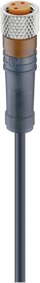 Câble M8 pour capteurs/actionneurs femelle droite Lumberg Automation RKMV 3-224/5 M 12955 Conditionnement: 1 pc(s)