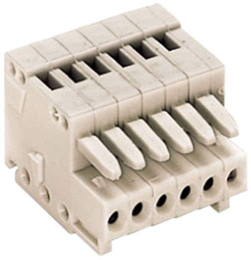 WAGO 733-105 Buchsengehäuse-Kabel 733 Polzahl Gesamt 5 Rastermaß: 2.50 mm 1 St.