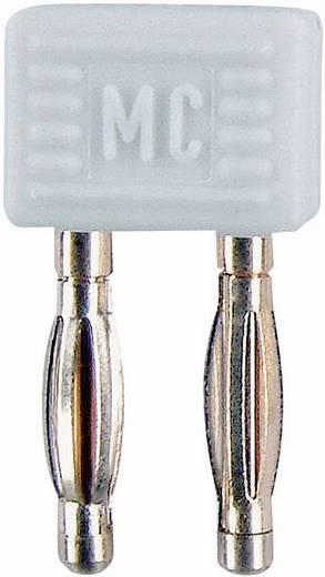 Verbindungsstecker Weiß Stift-Ø: 2 mm Stiftabstand: 5.08 mm MultiContact KS2-5,08L 1 St.