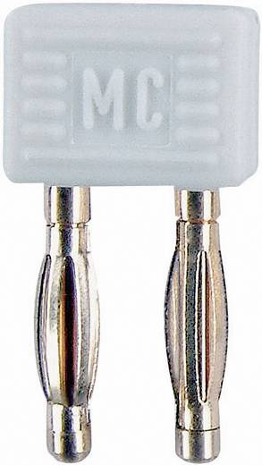 Verbindungsstecker Weiß Stift-Ø: 2 mm Stiftabstand: 5.08 mm Stäubli KS2-5,08L 1 St.