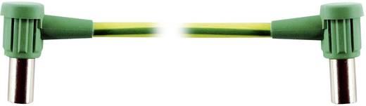 Verbindungskupplung Buchse 6 mm - Buchse 6 mm Grün-Gelb MultiContact MC-POAG-EC6/2 1 St.