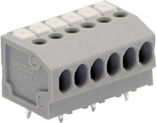 Federkraftklemmblock 1.50 mm² Polzahl 5 WAGO Grau 1 St.