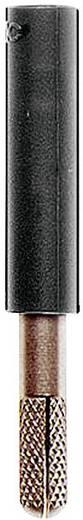 Übergangsstecker Stecker 4 mm - Buchse 4 mm Schwarz MultiContact A-SLK4-S 1 St.