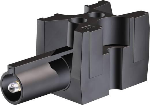 Verbindungsklemme flexibel: -2.5 mm² starr: -2.5 mm² Polzahl: 1 Stäubli 15.0186 1 St. Schwarz