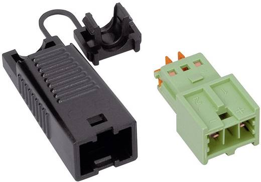 Netz-Steckverbinder Serie (Netzsteckverbinder) WINSTA KNX Stecker, gerade Gesamtpolzahl: 2 3 A Grün WAGO 1 St.