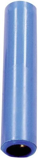 Verbindungskupplung Buchse 4 mm - Buchse 4 mm Blau Stäubli KK4/4 1 St.