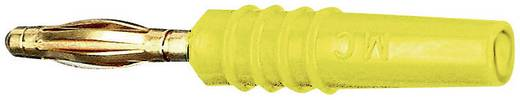 Lamellenstecker Stecker, gerade Stift-Ø: 2 mm Gelb Stäubli SLS205-L 1 St.