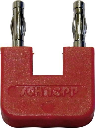 Kurzschlussstecker Rot Stift-Ø: 4 mm Stiftabstand: 19 mm Schnepp FK 19/4 rt 1 St.