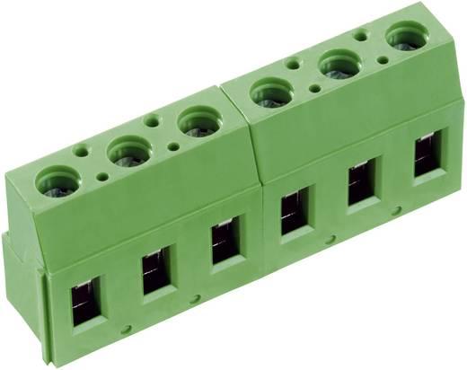 Schraubklemmblock 2.50 mm² Polzahl 5 AK710/5-7.5-V PTR Grün 1 St.