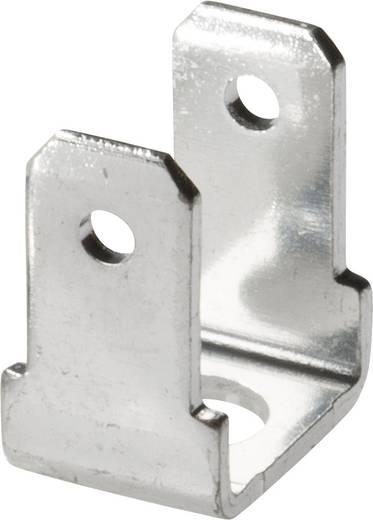 Steckzunge Steckbreite: 4.8 mm Steckdicke: 0.8 mm 90 °, 90 ° Unisoliert Metall Vogt Verbindungstechnik 3821R90.67 1 St.