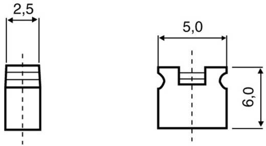 Kurzschlussbrücke Rastermaß: 2 mm Polzahl je Reihe:2 BKL Electronic 10120902 Inhalt: 1 St.