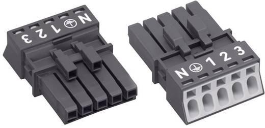 Netz-Steckverbinder Serie (Netzsteckverbinder) WINSTA MINI Buchse, gerade Gesamtpolzahl: 4 + PE 16 A Schwarz WAGO 1 St.
