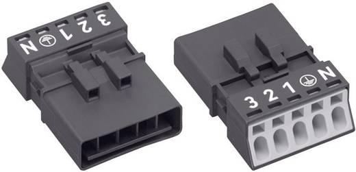 Netz-Steckverbinder Serie (Netzsteckverbinder) WINSTA MINI Stecker, gerade Gesamtpolzahl: 4 + PE 16 A Schwarz WAGO 890-