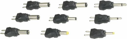 VOLTCRAFT MW 8XC2 Netzgeräte Adapter-Set mit 2 Klinkenadapter und 7 Niedervolt-Adapter, gerade 9 Teile
