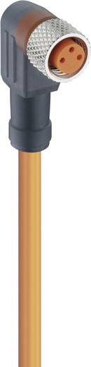 Aktor-Sensor-Anschlussleitung, M8-Kupplung, gewinkelt RKMWV/LED A 3-06/5 M Lumberg Automation Inhalt: 1 St.