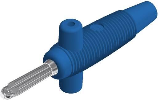 Büschelstecker Stecker, gerade Stift-Ø: 4 mm Blau SKS Hirschmann Buela 300 K 1 St.
