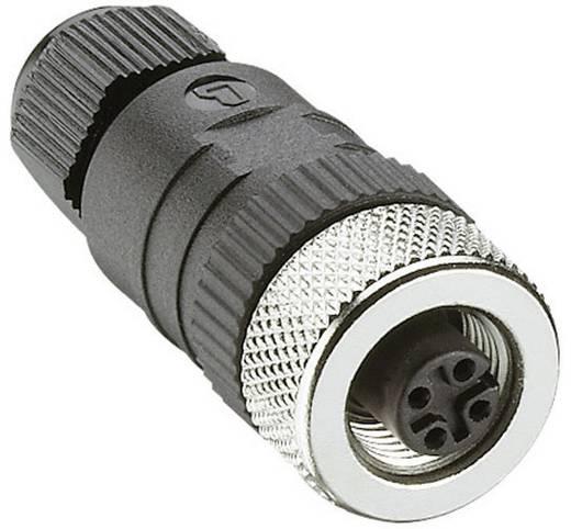 Leitungskupplung, konfektionierbar M12 Pole: 4 RKC 4/7 Lumberg Automation Inhalt: 1 St.