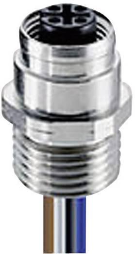 Sensor-/Aktor-Einbausteckverbinder M12 Buchse, Einbau 0.50 m Polzahl: 4 Lumberg Automation 108776 RKFM 5/0,5 M 1 St.