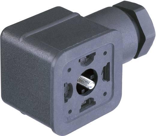 Ventilsteckverbinder GDMF Schwarz CO GDMF 3016 DAAA Pole:3 + PE Hirschmann Inhalt: 1 St.