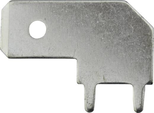 Steckzunge Steckbreite: 6.3 mm Steckdicke: 0.8 mm 90 ° Unisoliert Metall Vogt Verbindungstechnik 3867B.68 1 St.