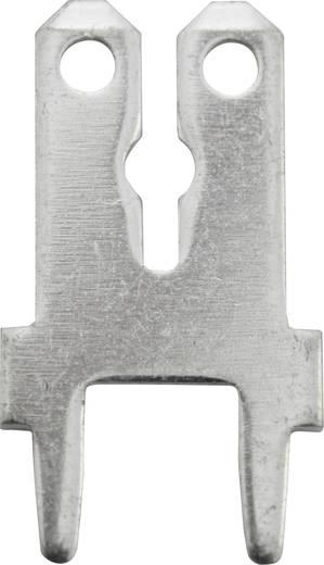 Steckzunge Steckbreite: 6.3 mm Steckdicke: 0.8 mm 180 ° Unisoliert Metall Vogt Verbindungstechnik 3866C.68 1 St.