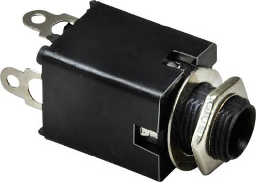 Klinken-Steckverbinder 6.35 mm Buchse, Einbau vertikal Polzahl: 3 Stereo Silber BKL Electronic 1109034 1 St.