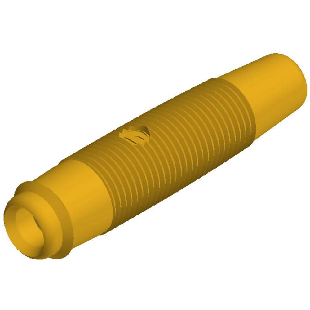 Fiche banane femelle de la broche 4 mm sks hirschmann kun 30 au 931804703 jaune 1 pc s - Fiche banane femelle ...
