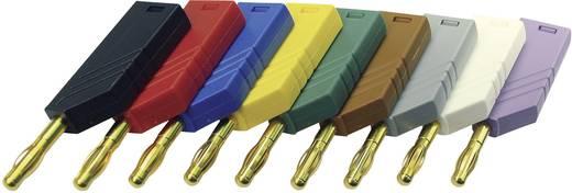 Lamellenstecker Stecker, gerade Stift-Ø: 4 mm Gelb SKS Hirschmann LAS N WS Au 1 St.