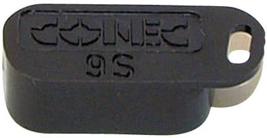 Abdeckkappe Conec 160X10409X Schwarz 1 St.