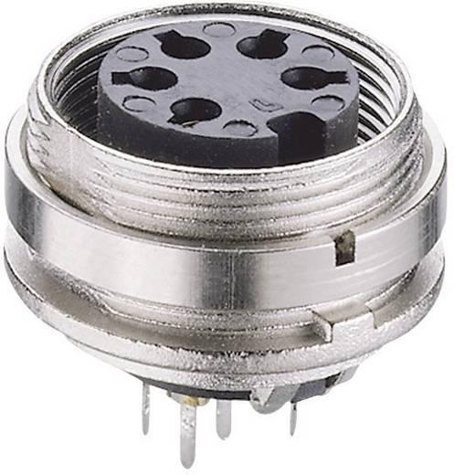 DIN-Rundsteckverbinder Buchse, Einbau vertikal Polzahl: 8 Silber Lumberg KGR 81 1 St.