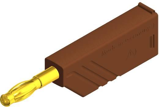 Lamellenstecker Stecker, gerade Stift-Ø: 4 mm Braun SKS Hirschmann LAS N WS Au 1 St.