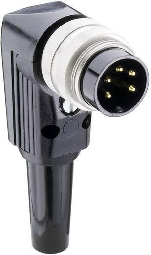 DIN-Rundsteckverbinder Stecker, gewinkelt Polzahl: 4 Silber Lumberg WSV 40 1 St.