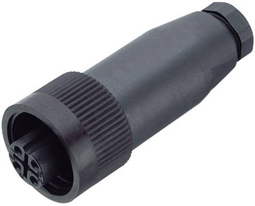 Standard-Rundsteckverbinder Serie 692 Pole: 6 + PE Kabelstecker 10 A 99-0218-00-07 Binder 1 St.