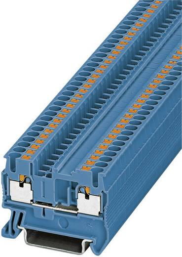 Push-In Durchgangsklemmen PT PT 2,5 BU Phoenix Contact Blau Inhalt: 1 St.